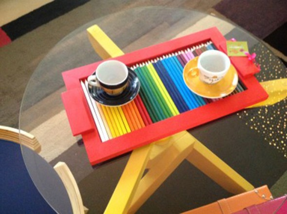 Ideias de artesanato com lápis de cor 014