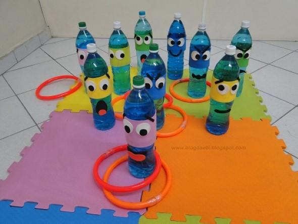 Maneiras criativas de arte com garrafas PET 013