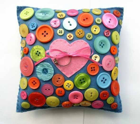 Como usar botões de roupa no artesanato 003