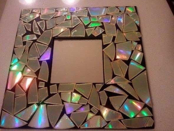Ideias de artesanato com CDs e DVDs velhos 009