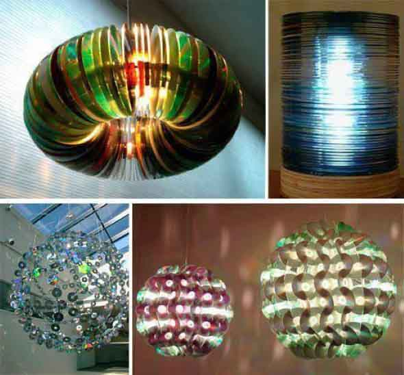 Ideias de artesanato com CDs e DVDs velhos 012
