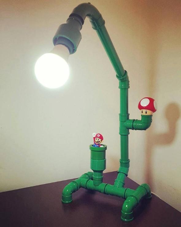 Luminária de PVC 002
