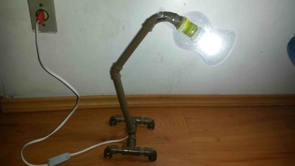 Luminária de PVC 003