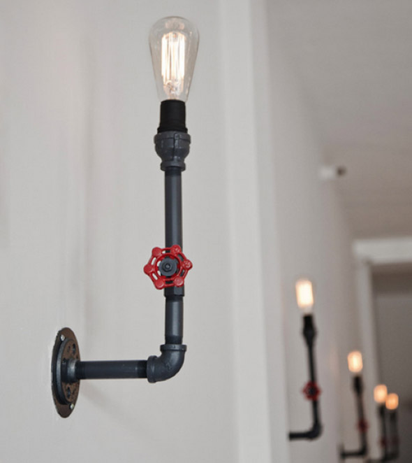 Luminária de PVC 010