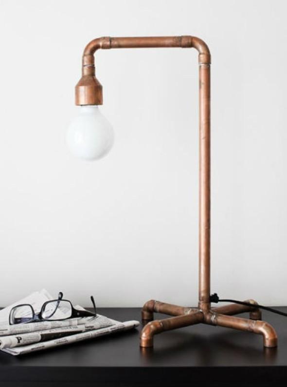 Luminária de PVC 011