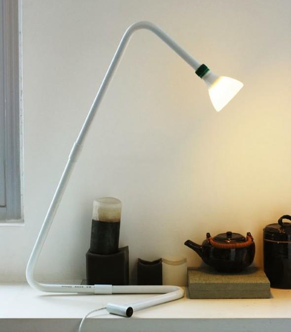 Luminária de PVC 012