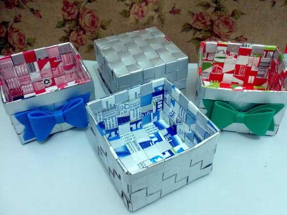 15 Ideias de artesanato com recicláveis do dia a dia 003