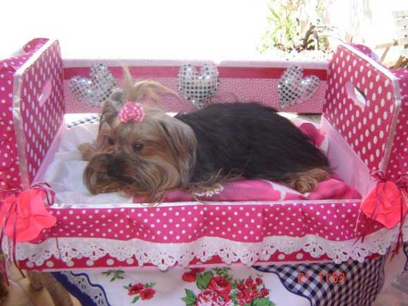Aprenda a fazer uma cama artesanal para seu cachorrinho 012