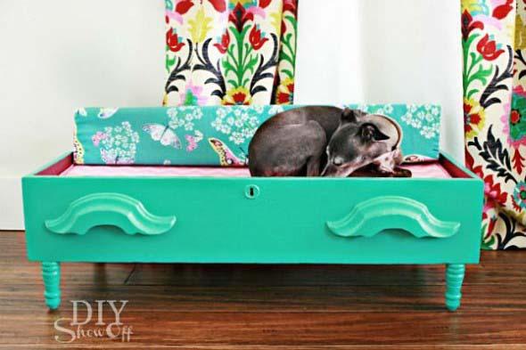 Aprenda a fazer uma cama artesanal para seu cachorrinho 016