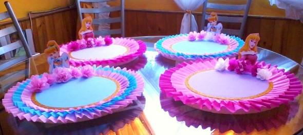 Artesanato com pratos descartáveis 011