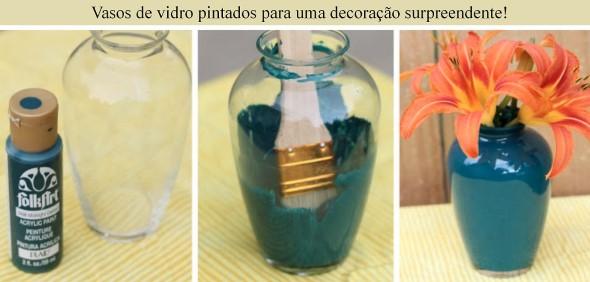 Como pintar potes de vidro em casa 003