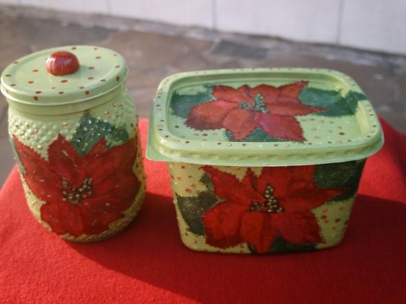 Reciclando potes de margarina 009