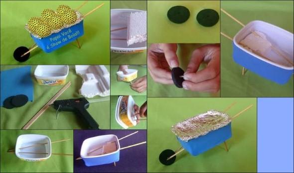 Reciclando potes de margarina 012