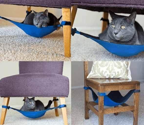 Aprenda a fazer uma cama artesanal para seu gatinho 007