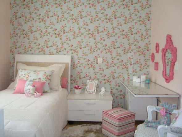 Como decorar as paredes do quarto com tecido 001