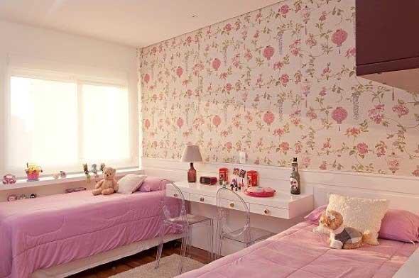 Como decorar as paredes do quarto com tecido 006
