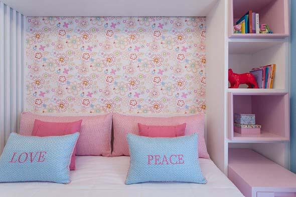 Como decorar as paredes do quarto com tecido 008