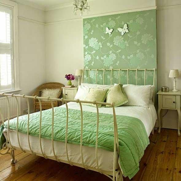 Como decorar as paredes do quarto com tecido 009