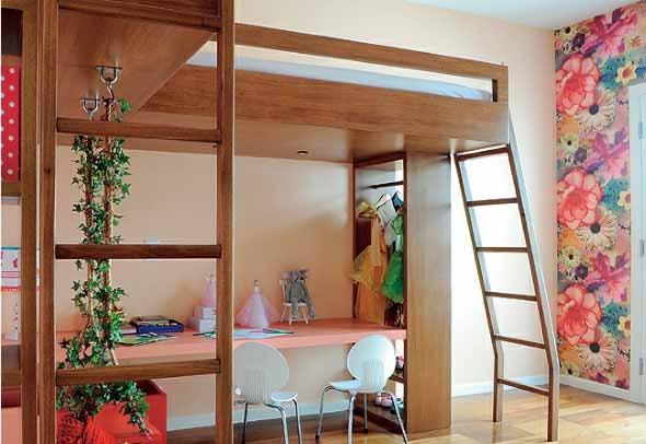 Como decorar as paredes do quarto com tecido 014