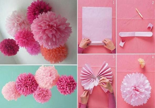 Ideias criativas de artesanato com papel 011
