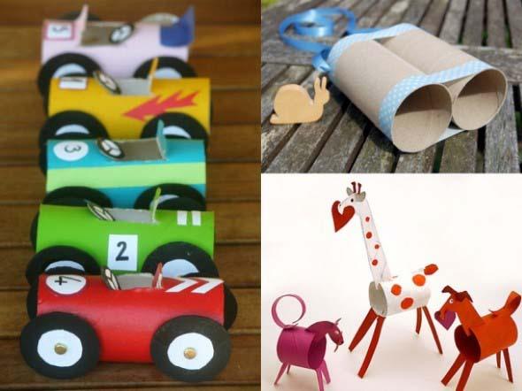 Ideias criativas de artesanato com papel 013