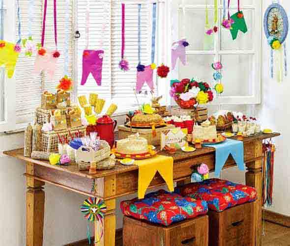 Aprenda a montar a decoração de Festa Junina 012