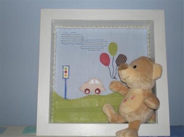 Quadro para decorar o quarto do bebê 011