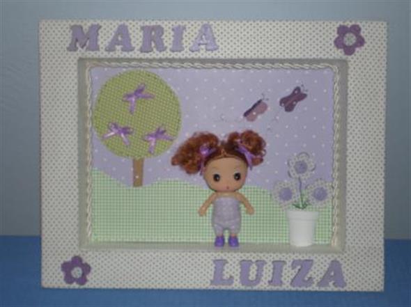 Quadro para decorar o quarto do bebê 012