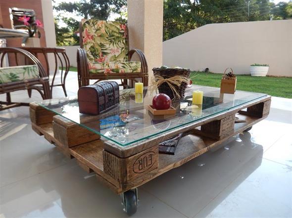 Como fazer uma mesa de paletes 004