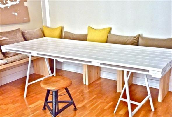 Como fazer uma mesa de paletes 006