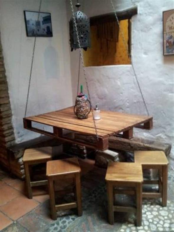 Como fazer uma mesa de paletes 011
