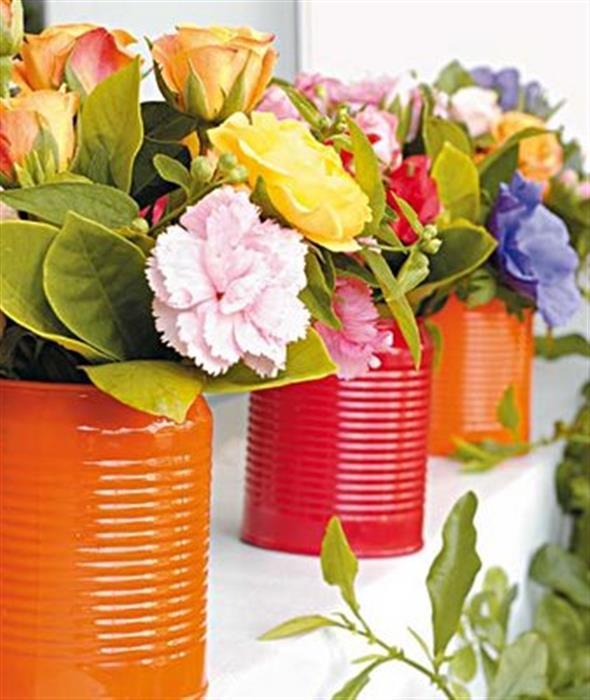Como fazer vasos artesanais com material reciclado 013