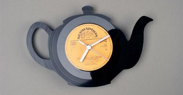 Como fazer arte com discos de vinil 007