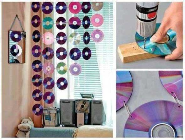 Recicle seus CDs usados com dicas de artesanato 001
