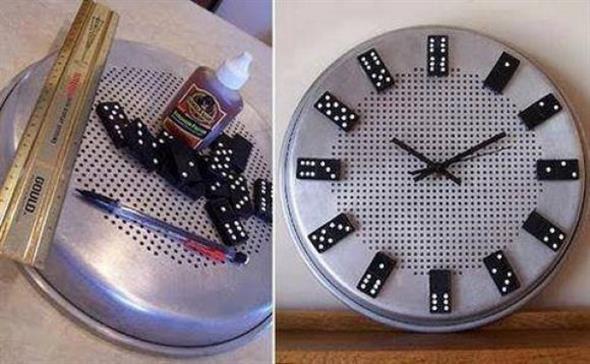Relógio artesanal criativo 014