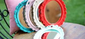 Moldura artesanal de crochê – Saiba como fazer