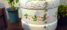 Recicle galões de água com dicas de artesanato