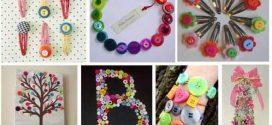Personalize seu artesanato com botões