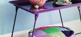 Puffs charmosos e criativos para fazer em casa