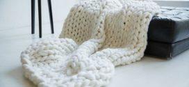 DIY – Como fazer tricô gigante
