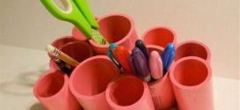 Ideias criativas de arte com canos