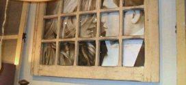 Reciclar portas e janelas velhas em casa