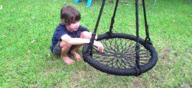 Artesanato com rodas e pneus de bicicletas