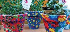 Utilizar tecido de chita em artesanato variados