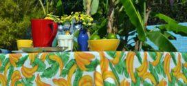 Estampa tropical em decoração e moda 2019