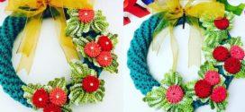Como fazer uma guirlanda de crochê