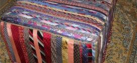 Artesanato com gravatas usadas