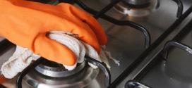 Como limpar e desengordurar o fogão