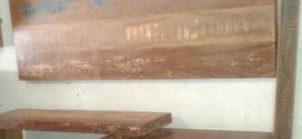 Pátina em painel e outros objetos