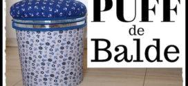 Idéias de artesanato com baldinho de margarina ou tinta